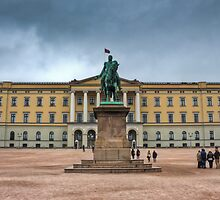Royal Palace Oslo, Norway by pixog