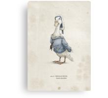 Real Life Donald Duck - Natural History Variant Canvas Print