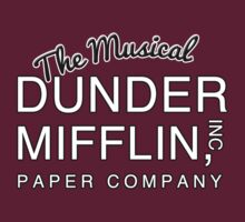 Dunder Mifflin, Inc (The Musical) NOW IN WHITE by GenialGrouty