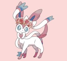 Sylveon In Flower Crown Kids Clothes