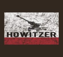 Howitzer distressed logo by davewear