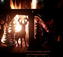 Chestnuts roasting by an open fire by imacurlygirl
