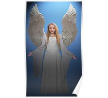 Angelic Angel Poster
