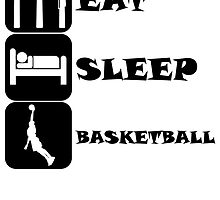 Eat Sleep Basketball by kwg2200