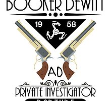 Booker DeWitt PI - Colour by Adam Angold