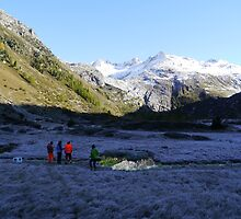 What is left of the Rhone Glacier by Nano Trace Technologies