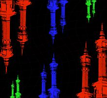 Minarets reflection by IslamicCards