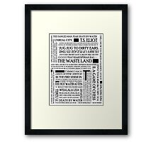The Waste Land Framed Print