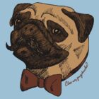 Do you like my Pugstache? by ThePencilClub