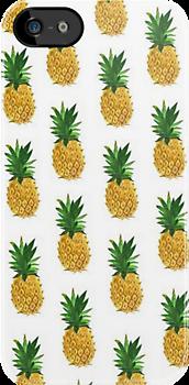 Pineapples by Crystal Friedman