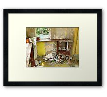 Do Come In And Take A Seat Framed Print