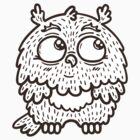 Baby owl. by BoYusya