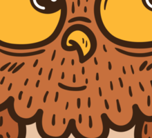 Cute owl Sticker