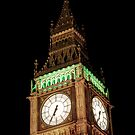 Big Ben Close Up by Jasna