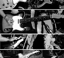 Guitars in Three by Amanda Vontobel Photography