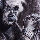 Einstein and his physics Hands by Followthedon