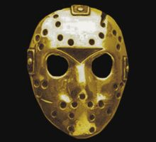 Gold Hockey Mask by Chase Haver