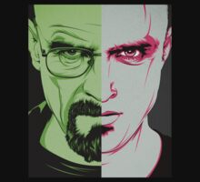 Breaking Bad - Walter / Jesse by caelanjayce