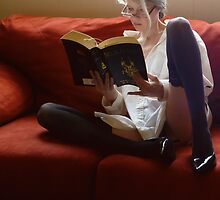 Stone Cold Fox Says Reading Is Sexy  by Margaret Bryant