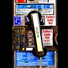 Classic Retro Rustic Public payphone by Johnny Sunardi