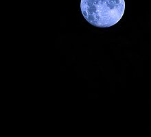 Blue Supermoon by Trish Mistric