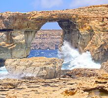 Azure Window, Gozo, Malta by Kajia