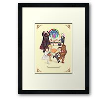 Curse those thieving, silent Jedi Knights (and on Christmas too!) Framed Print