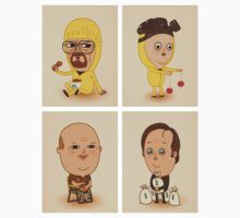 Breaking Bad Characters by shylas