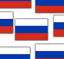 Iphone Case - Flag of Russia 4  by Mark Podger