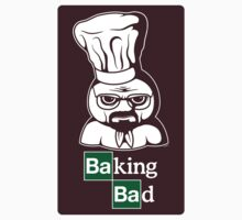 Baking Bad (STICKER) by mikehandyart