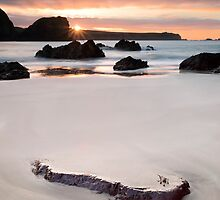Kynance Cove Sunrise by Chris Frost Photography