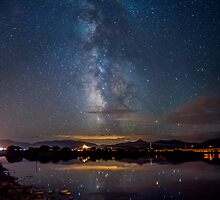Vertical Milky Way Reflection by Cody  Limber