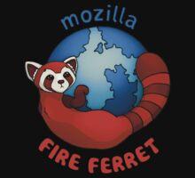 Mozilla Fire Ferret T-Shirt