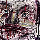 Face stretcher Clown Jester zombie by Followthedon