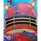 Retro Dalek - celebrating 50 years of Dr Who by debzandbex