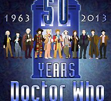 Doctor Who @50 by marlowinc