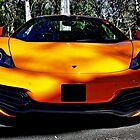 Head on Orange Mclaren at Belair Country Club by Ferenghi