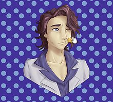 Professor Sycamore-Amie! [Blue Polka Dots] [iPad] by Kashidoodles