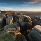 Froggatt Edge Sunset by James Grant