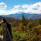 Fall in the mountains.  Cataloochie North Carolina  by KSKphotography