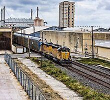 Entering Train Yard by Craig  Bellinger Photography