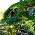 Bag End at Hobbiton - New Zealand by Nicola Barnard