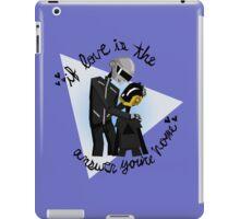 Papa and Son- Daft Punk iPad Case/Skin