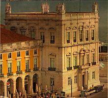 Praça do Comércio. Commerce square. Lisbon by terezadelpilar~ art & architecture
