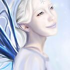 The Snow Fairy by TriciaDanby