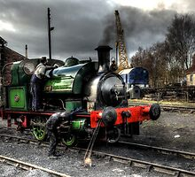 No 2 Steam Engine by Andrew Pounder