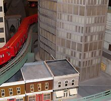 Model New York City Subway Trains, New York Transit Museum Annex Train Show, Grand Central Terminal, New York City by lenspiro