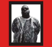 Biggie Smalls Sticker And Shirt [High Contrast] | FreshThreadShop.com by FreshThreadShop