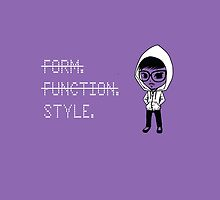 Form. Function. STYLE. by hebanation