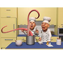 Too Many Cooks New Series -  The Food Strikes Back Photographic Print